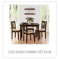 COS-SAGIV DINING SET (1+4)